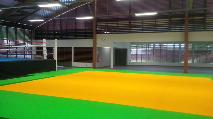 AMO: Construction de la salle polyvalente des arts martiaux
